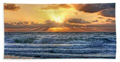 Gulf Waters Hand Towel by HH Photography of Florida