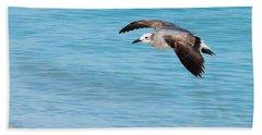 Gull At Lido Beach IIi Hand Towel