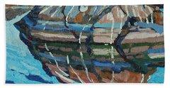 Gull Rock Bath Towel by Phil Chadwick