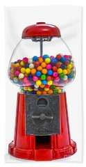 Gumball Machine Bath Towel