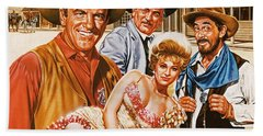 Gunsmoke Bath Towel