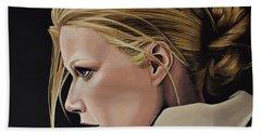 Gwyneth Paltrow Painting Bath Towel