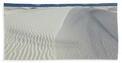 White Sands Gypsum Dunes Hand Towel