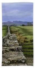 Hadrian's Wall Bath Towel by Mary Carol Story