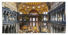 Hagia Sofia Interior 35 Bath Towel