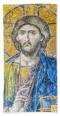 Hagia Sofia Jesus Mosaic Hand Towel