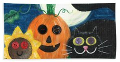 Halloween Fun Bath Towel