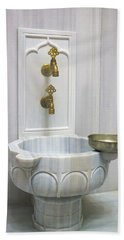 Hamam Marble Sink In Istanbul Hand Towel