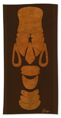 Hamite Female Hand Towel by Jerry Ruffin