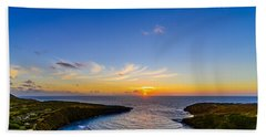 Hanauma Bay Sunrise Bath Towel