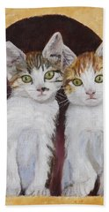 Hanging Out Together Hand Towel