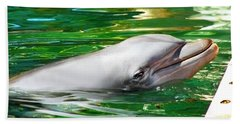 Happy Dolphin Bath Towel