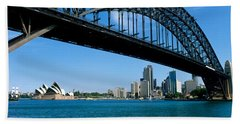 Harbor Bridge, Sydney, Australia Bath Towel