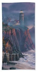 Harbor Light Hideaway Hand Towel