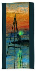 Harbor Light Hand Towel