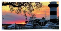 Harbour Town Sundown Hand Towel