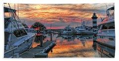 Harbour Town Yacht Basin Hand Towel