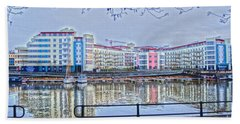 Harbourside Flats Hand Towel