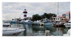 Harbourtown Harbor Hand Towel