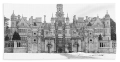 Harlaxton Manor Hand Towel