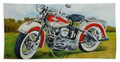 Harley Davidson 1943 Hand Towel