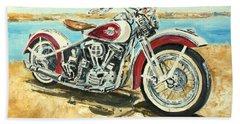 Harley Davidson 1960 Hand Towel