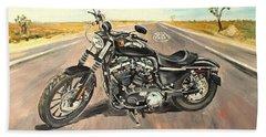 Harley Davidson 883 Sportster Hand Towel