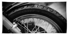 Harley Davidson Tire Bath Towel
