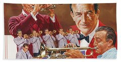 Harry James Trumpet Giant Bath Towel