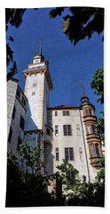 Hartenfels Castle - Torgau Germany Bath Towel