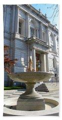Hartford Historical Building Bath Towel