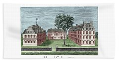 Harvard College - 1720 Hand Towel