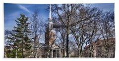 Harvard University Old Yard Church Hand Towel