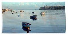 Hand Towel featuring the photograph Havana Maritime 2 by Steven Richman