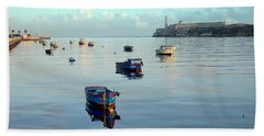 Bath Towel featuring the photograph Havana Maritime 2 by Steven Richman