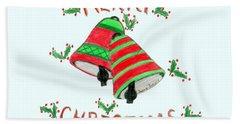 Merry Christmas Hand Towel