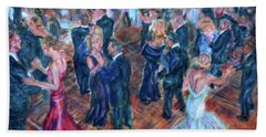 Having A Ball - Dancers Hand Towel