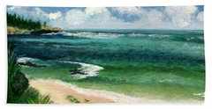 Hawaii Beach Hand Towel
