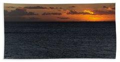 Bath Towel featuring the photograph Hawaiian Nights  by Heidi Smith