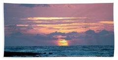 Hawaiian Ocean Sunrise Hand Towel