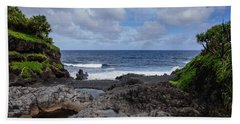 Hawaiian Surf Hand Towel