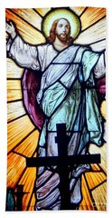 He Is Risen Bath Towel by Ed Weidman