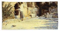 He Is Risen Bath Towel