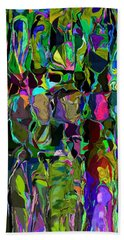 Head Voices Hand Towel by David Lane