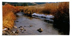 Headwaters Of The River Of No Return Hand Towel