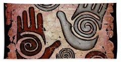 Healing Hands Fresco Bath Towel