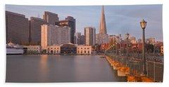 Bath Towel featuring the photograph Heart San Francisco by Jonathan Nguyen