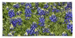 Heavenly Bluebonnets Bath Towel