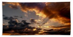 Heavenly Rapture Hand Towel by Mike Breau