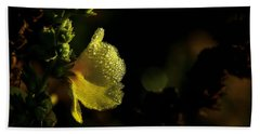 Hand Towel featuring the photograph Heavy Dew by Steven Reed